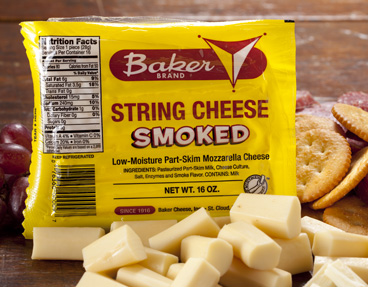 Baker Smoked String Cheese
