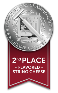 Baker Cheese string cheese wins silver medal 2017